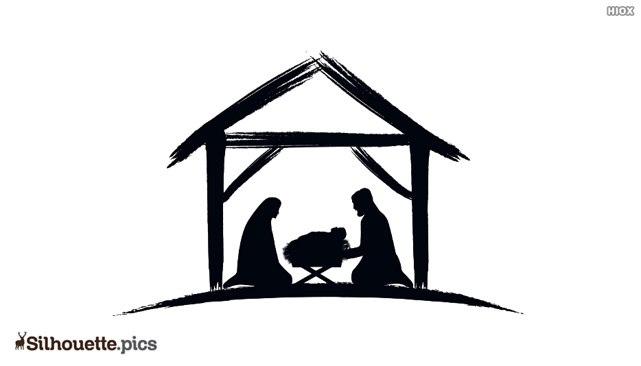 Nativity Silhouette Metal
