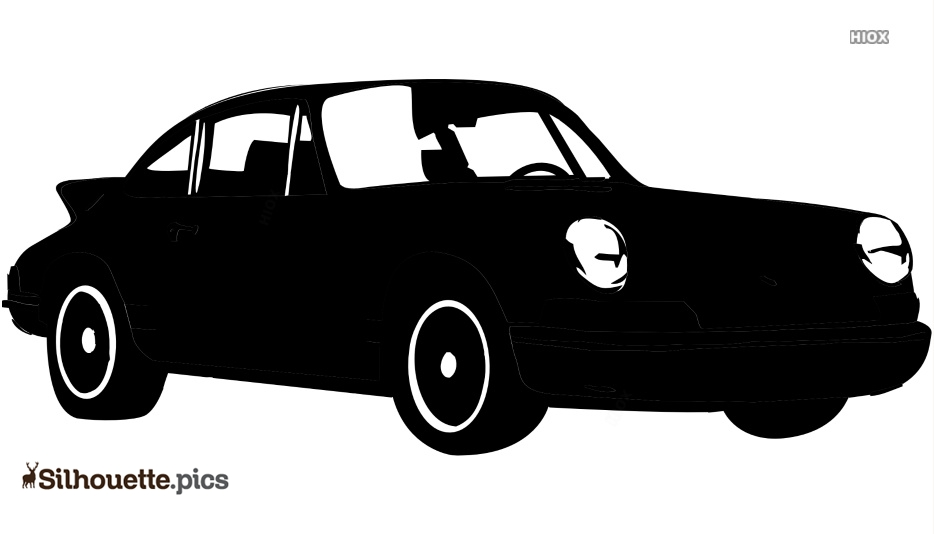 Old Car Model Silhouette