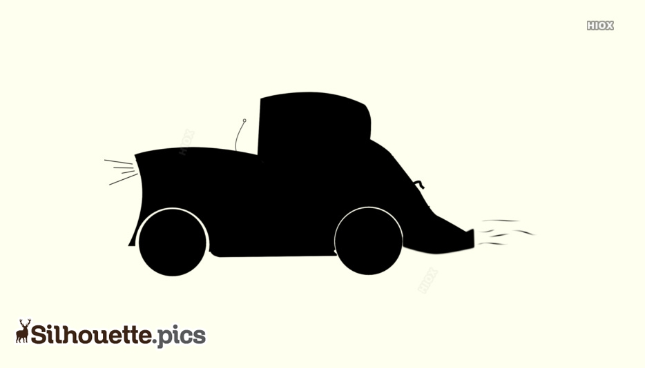 Cartoon Car Silhouette Images, Pictures