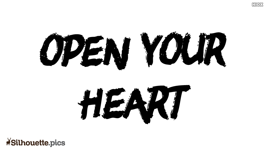 Open Your Heart Silhouette