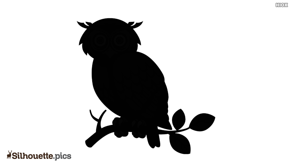 Spooky Owl Silhouette Images