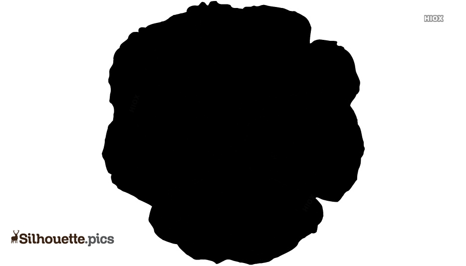 Pansy Silhouette Free Vector Art