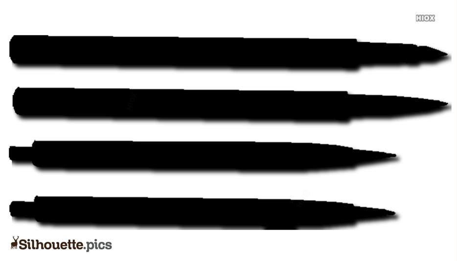 Pen Silhouette Images, Vector Art