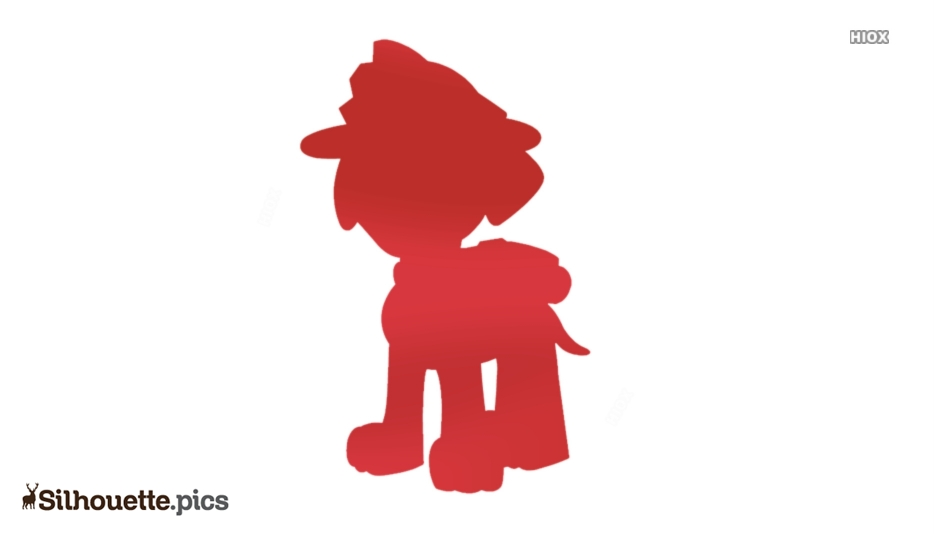 Paw Patrol Dog Silhouette Image Download For Free