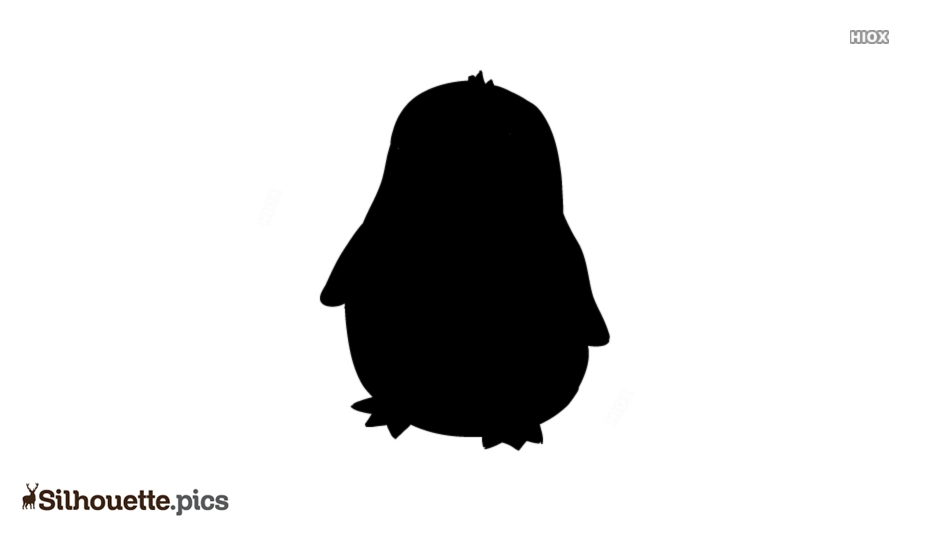 Penguins Cartoon Silhouette Art