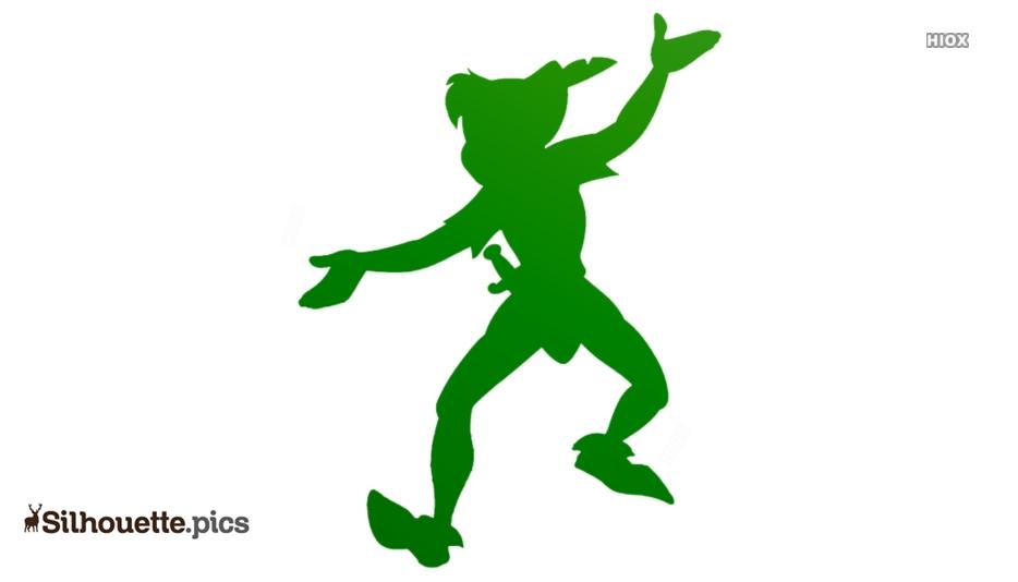 Peter Pan Disney Clip Art Silhouette