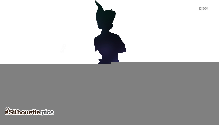 Peter Pan Disney Silhouette Art