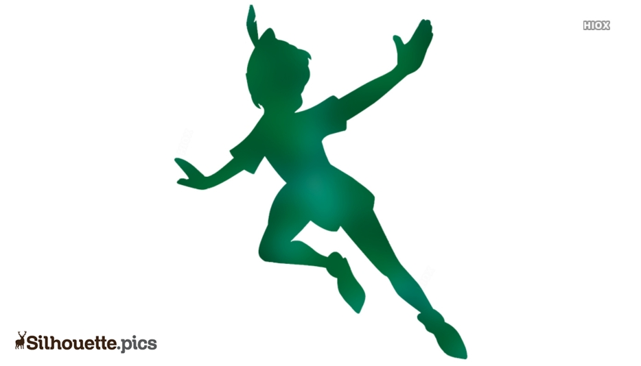Peter Pan Flying Silhouette Picture