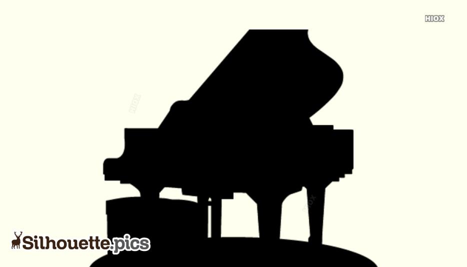 Piano Silhouette Clip Art
