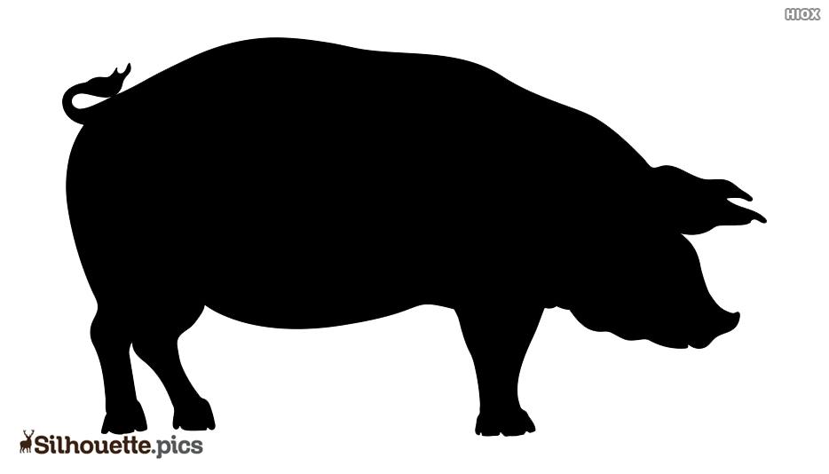 Pig Silhouette Logo