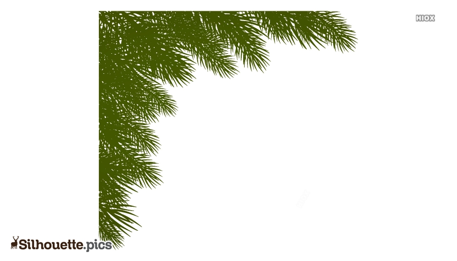 Christmas Border Silhouette Images