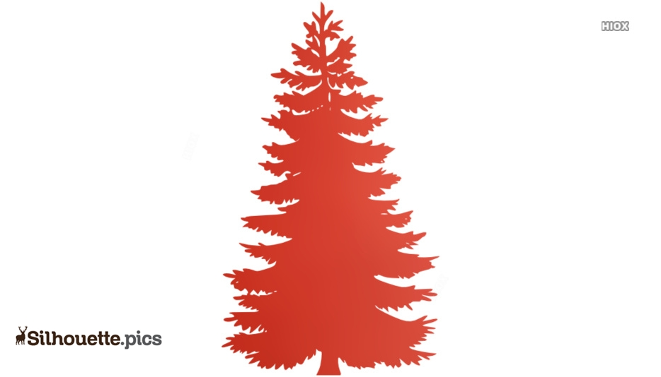Pine Tree Logo Silhouette For Free Download
