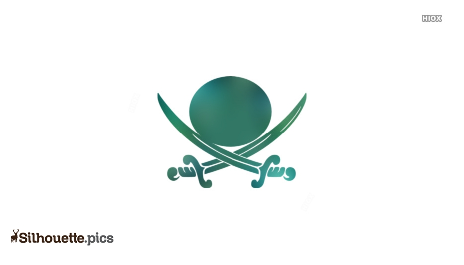 Pirate Crossed Swords Clipart Silhouette