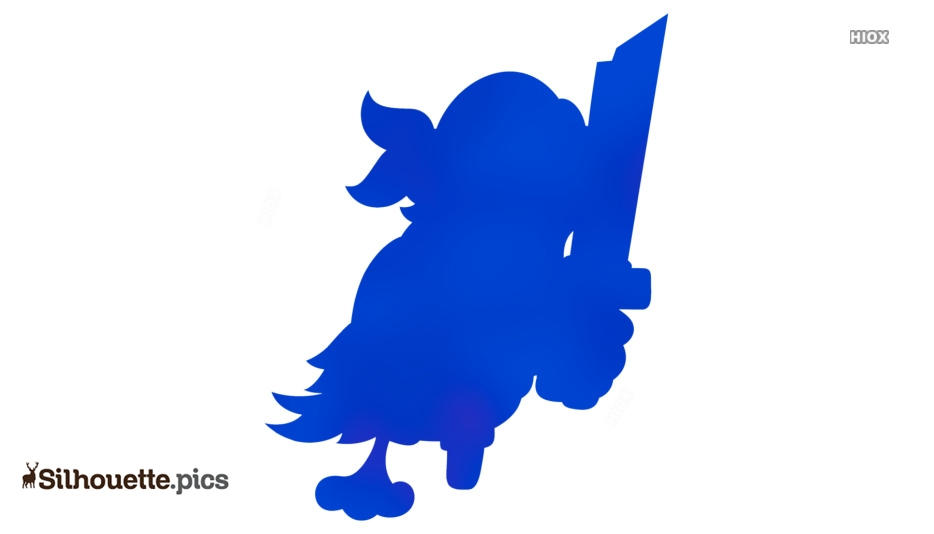 Pirate Parrot Silhouette Clipart