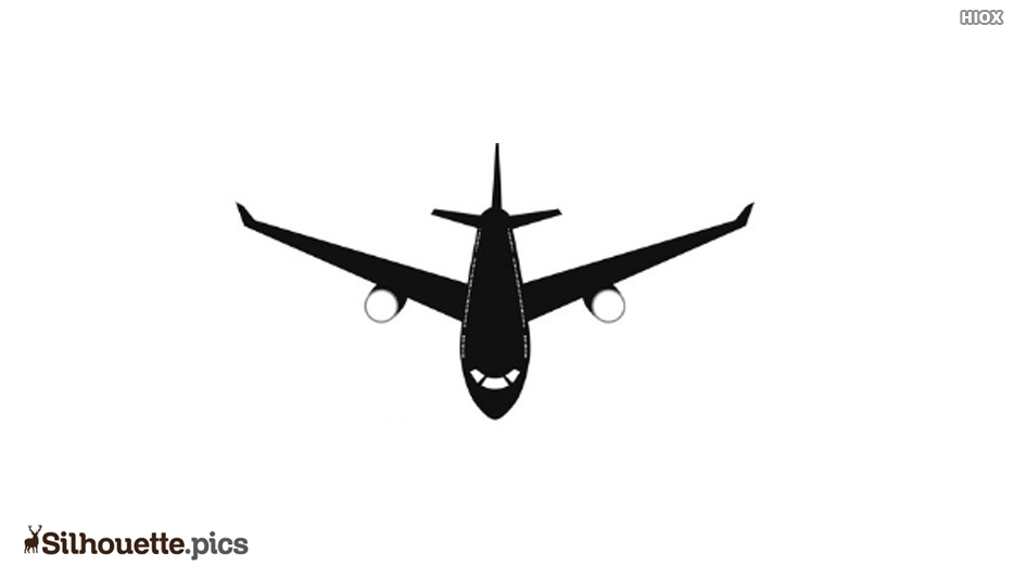 Plane Flying Silhouette