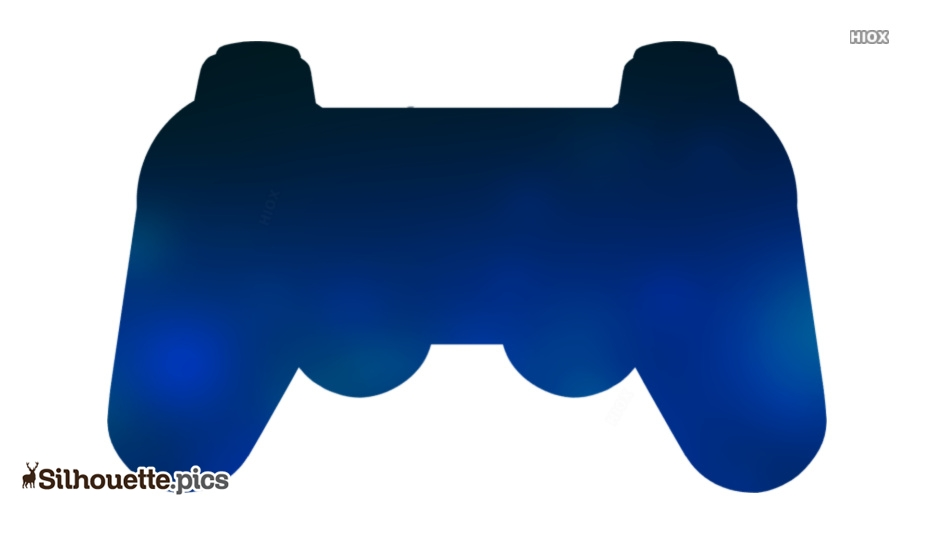Playstation Controller Illustration Silhouette