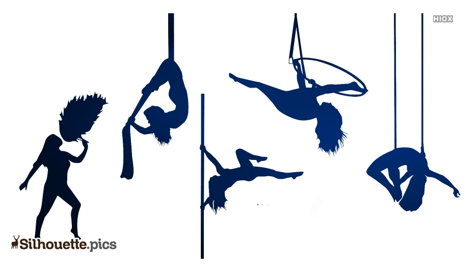 Polefire Pole Fitness Equipment Silhouette