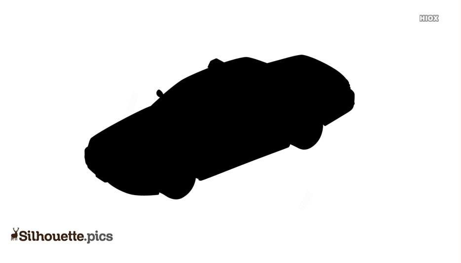 Police Car Silhouette Clipart
