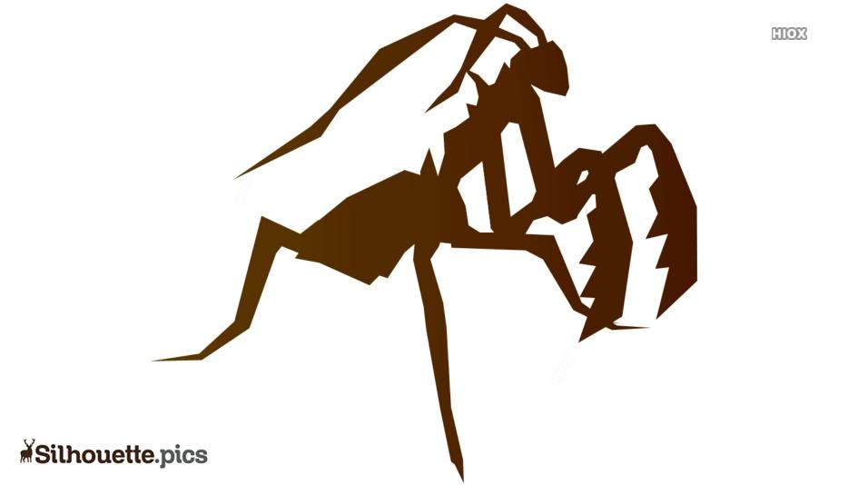 Prayer Mantis Silhouette Drawing For Free