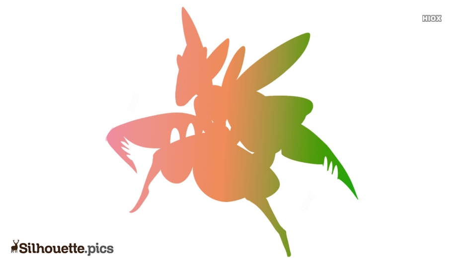 Praying Mantis Silhouette Background