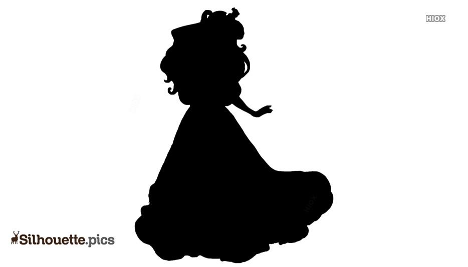 Princess Ariel Silhouette Clipart