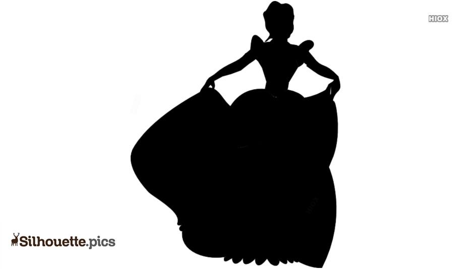 Disney Princess Silhouette Image