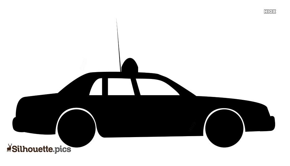 Printable Cartoon Police Cars Vector