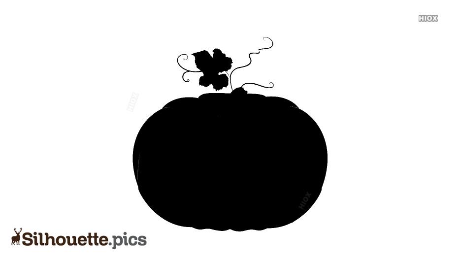 Pumpkin Clipart Silhouette