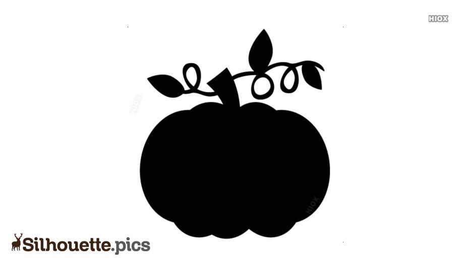Pumpkin Silhouette Clipart