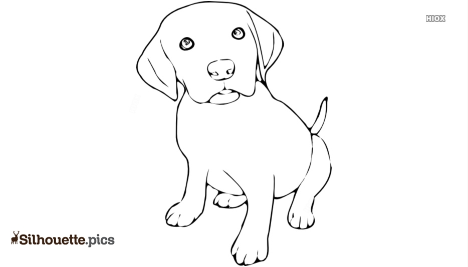 Dog Drawing Silhouette Images