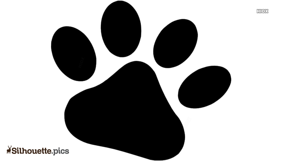 Puppy Paws Silhouette