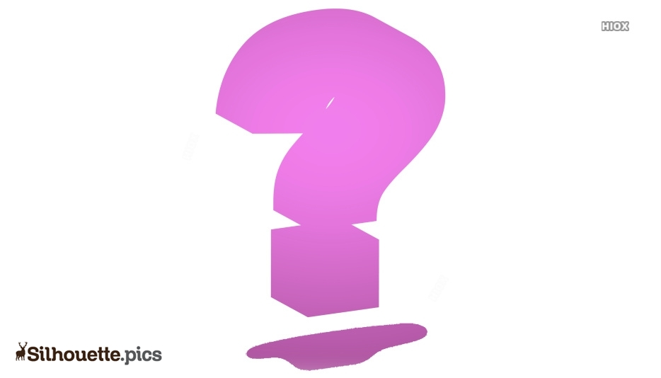 Question Mark Silhouette Icon