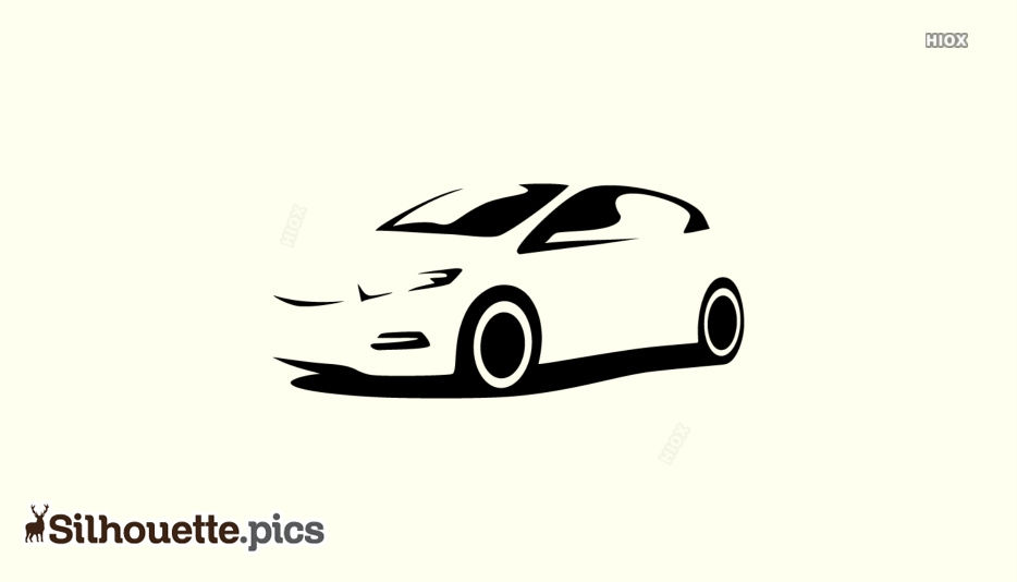 Race Car Silhouette Svg