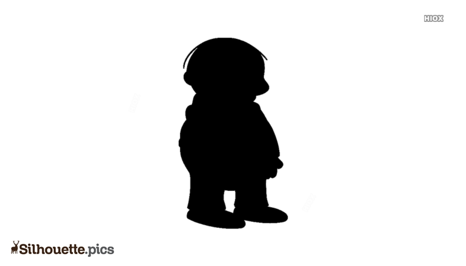 Ralph Wiggum Silhouette Vector And Graphics
