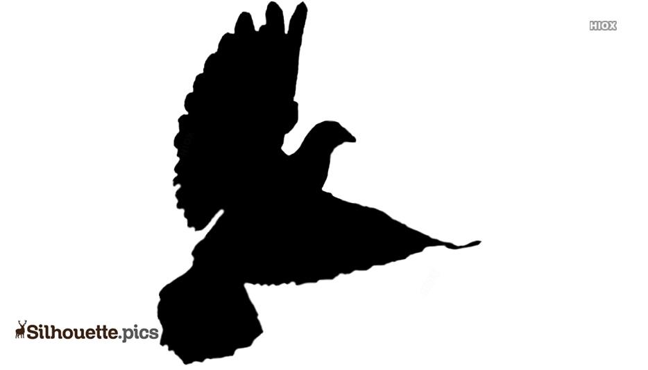 Religious Dove Silhouette Clip Art
