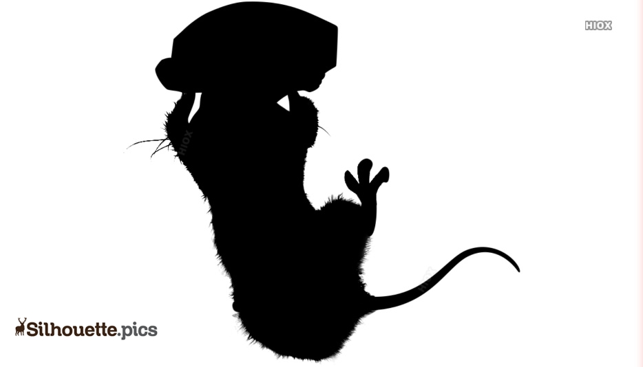 Remy Ratatouille Rat Hanging Silhouette