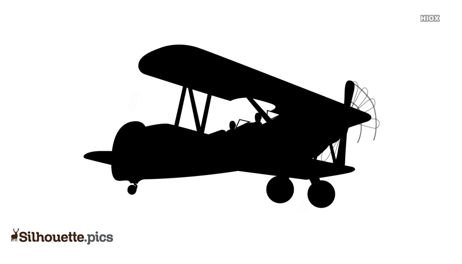 Retro Airplane Clipart Aviation Vintage Airplane Silhouette