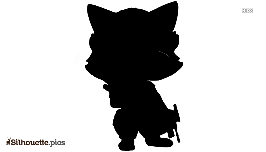 Anime Characters Silhouette Images
