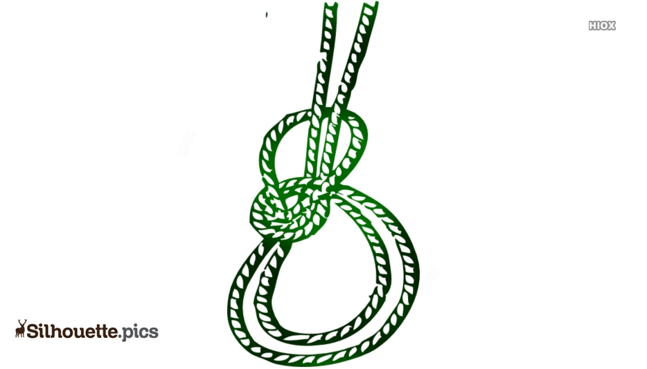 Rope Knot Silhouette