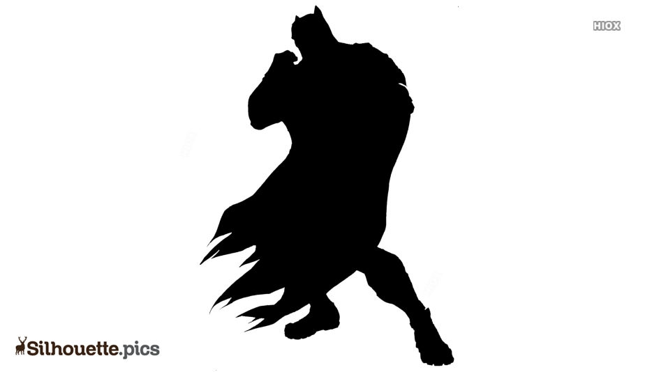 Rorschach Character Silhouette Illustration