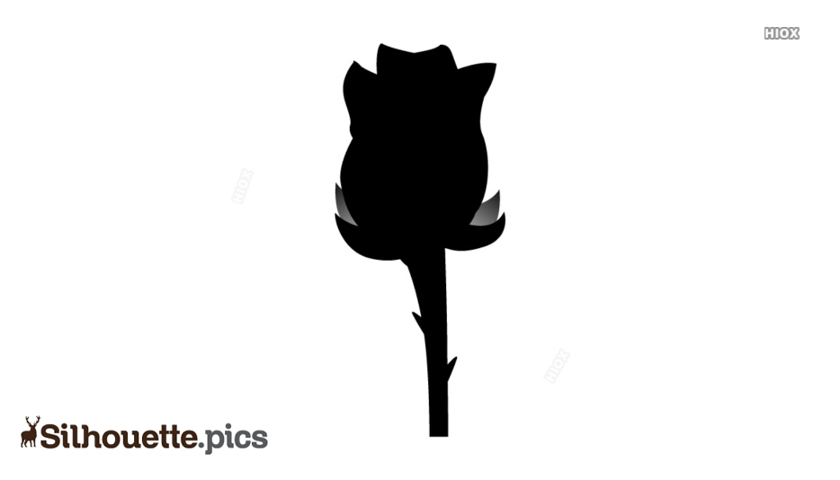 Rose Clipart Silhouette