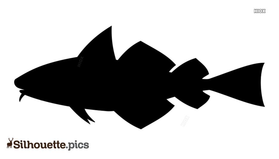 Salmon Fish Silhouette