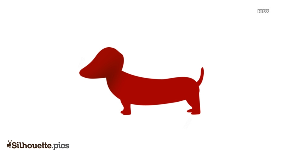 Sausage Dog Silhouette Illustration