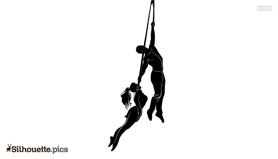 Scary Circus Silhouette