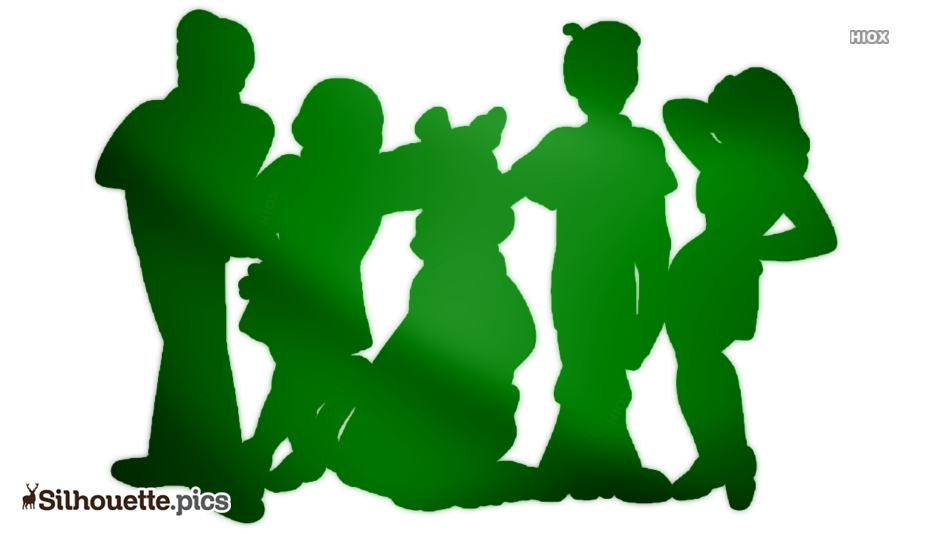 Scooby Doo Characters Silhouette Clip Art