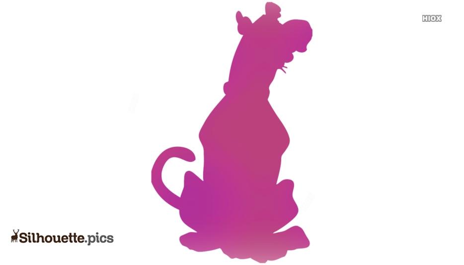 Scooby Doo Clip Art Silhouette