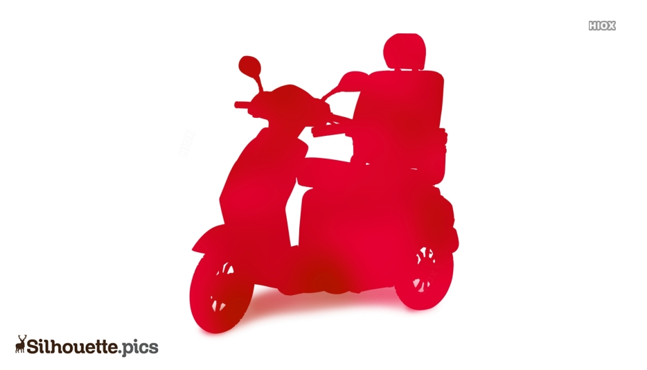 Scooter Wheel Clipart Silhouette