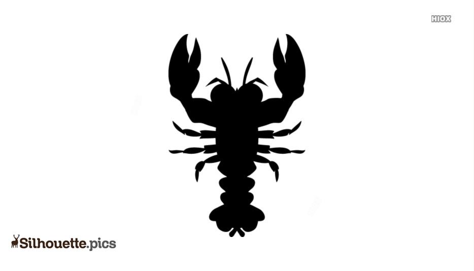 Scorpion Silhouette Art
