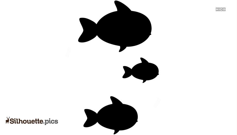 Sea Creature Silhouette Free Vector Art