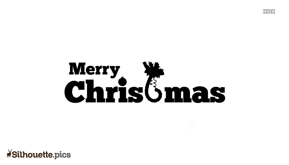 Christmas Clipart Silhouette Images, Pics